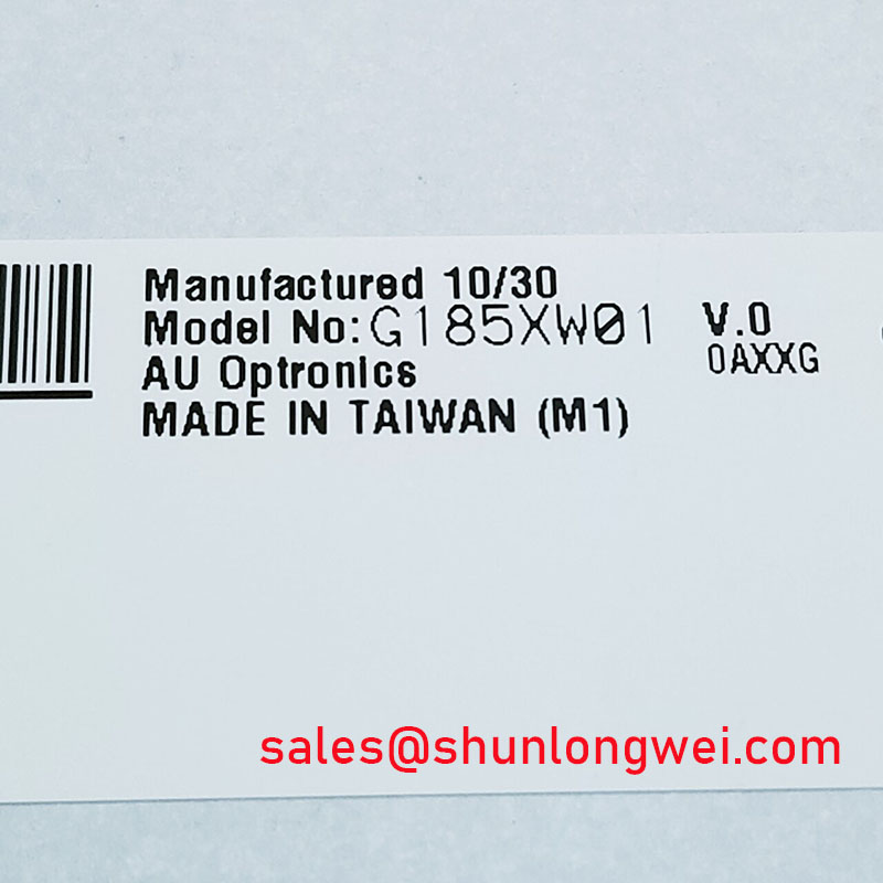 AUO G185XW01 V0 New Stock
